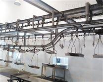 屠宰设备配件放血线链条链板可拆链轨道配件