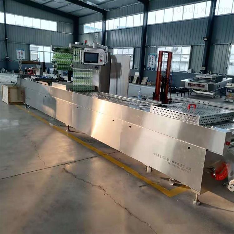 厂家定制全自动拉伸膜真空包装设备