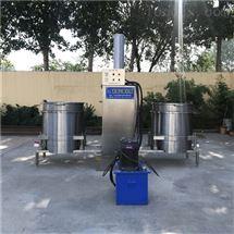 立式双桶液压压榨机