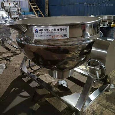 RC-501不锈钢电加热蒸汽夹层锅