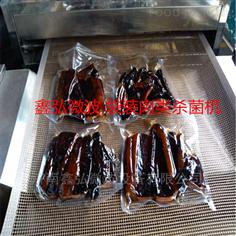 鑫弘微波袋装食品杀菌设备