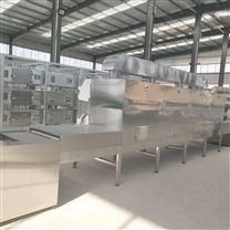 微波海鲜虾烘烤烘熟设备用的是节能环保设备