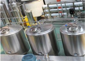 小型不锈钢饮料调配罐