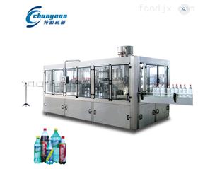不锈钢饮料生产线~功能饮料三合一灌装机