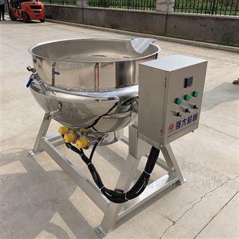 800L不锈钢电热搅拌炒锅