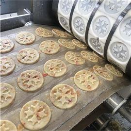 全自動干果顆粒餅干生產線 酥性餅干機械