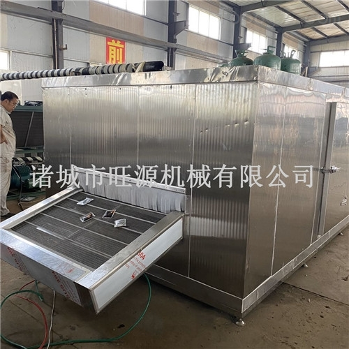 鸡翅隧道式式速冻机/全自动调理品速冻设备