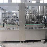 多功能三合一玻璃瓶果汁灌装机