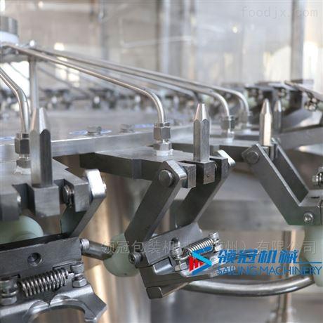 含气气泡液体不锈钢三合一灌装机生产线
