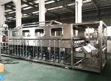 QGF全自动三合一五加仑大桶水灌装生产线