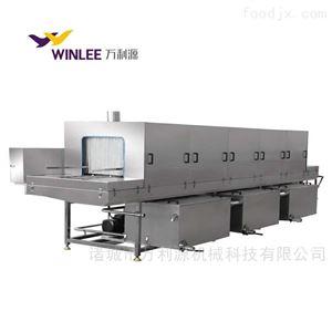 WLY-6000全自动食品筐果蔬筐托盘清洗机
