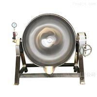 400L煮牛杂用卤煮锅   蒸汽加热可倾夹层锅