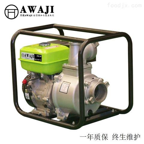 电启动3寸汽油高压消防泵报价