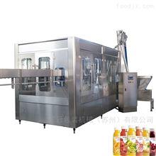四合一果汁果粒灌装机生产线