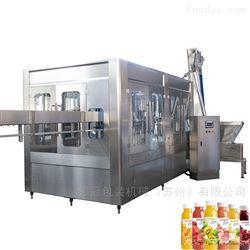 四合一果汁果粒灌裝機生產線