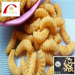 YS65-II毛毛虫膨化油炸小食品生产线