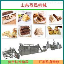 YS70-II巧克力燕麦片涂层加心米果生产线