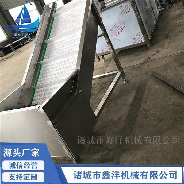 食品上料斜坡提升机 不锈钢式提升设备