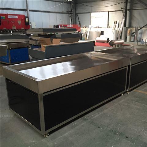 厂家瑞杰厨具提供日照不锈钢冰鲜台