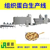 TSE65盛润机械手撕蛋白素肉胚料加工设备厂家