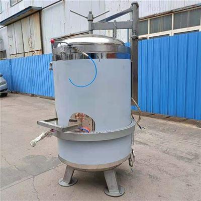1200*3600高温高压双层水浴式烧鸡扒鸡灭菌设备