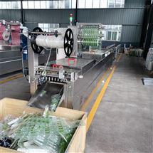 DZR-630肉酱包连续拉伸膜包装机
