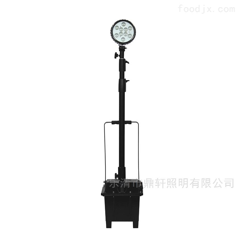 升降应急多功能泛光工作灯35W氙气灯充电器