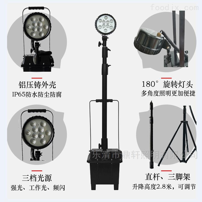生产厂家35W/30W升降防爆移动灯应急工作灯