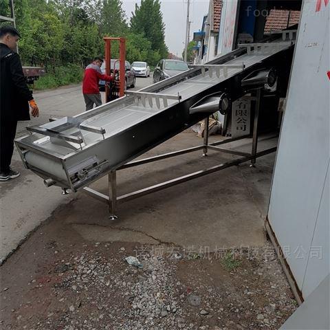 大型自动化炒货机流水线