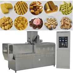 锅巴膨化食品设备生产线