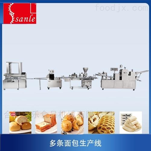 多条面包生产线