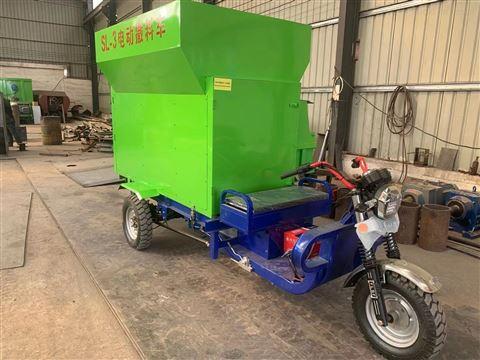 电动撒料车的优点特性介绍