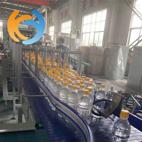 全自动玻璃瓶装果汁饮料生产线设备