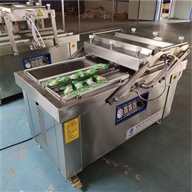 小产品豆干零食四封条真空包装机