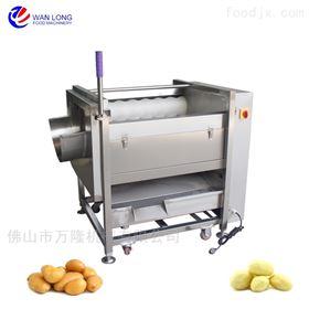 QX-08高产量芋头山芋多功能泰国菠萝去皮机