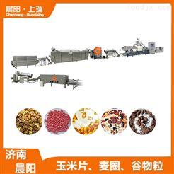 CY65膨化机玉米片食品设备  谷物麦圈加工机械