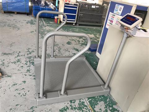 300公斤透析医用轮椅秤 碳钢电子轮椅称