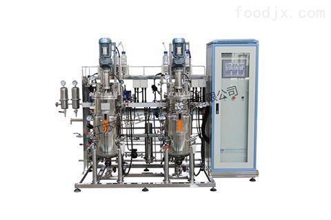 KRH-DPJ-100L二联平行不锈钢机械搅拌发酵