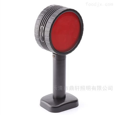 LED红色频闪双面方位灯磁力升缩信号灯充电