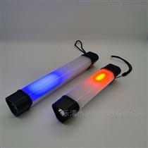 SW2186多功能磁吸挂钩挂绳警5W红蓝聚泛光照明管灯