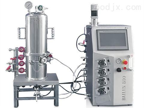 玻璃发酵罐(台式原位灭菌机械搅拌)