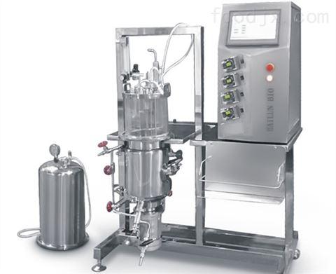 玻璃发酵罐(原位灭菌磁力搅拌立式)