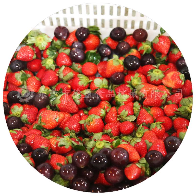 草莓清洗效果