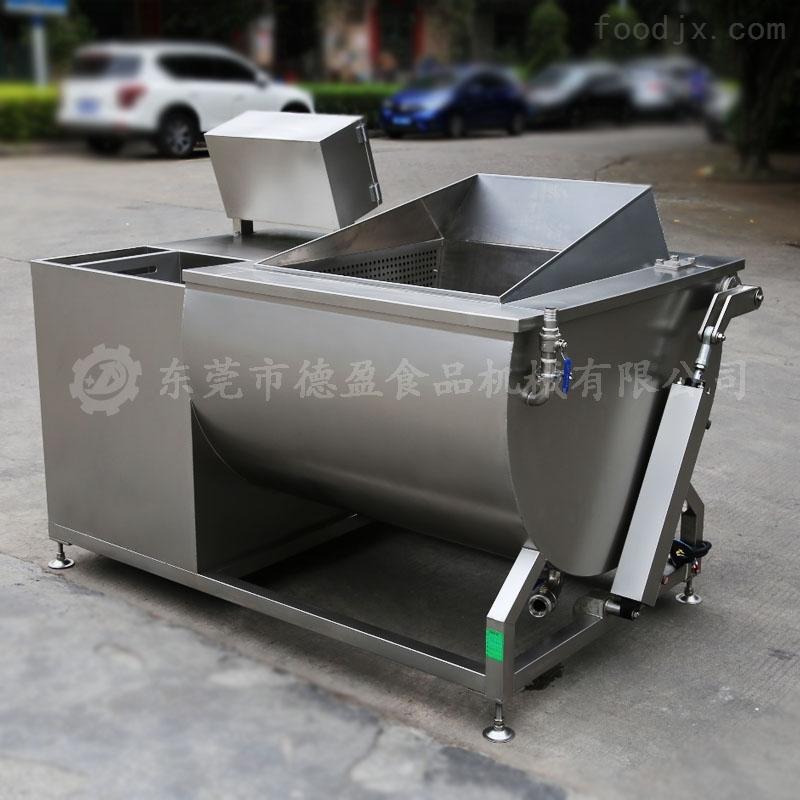 食堂蔬菜单槽洗菜机