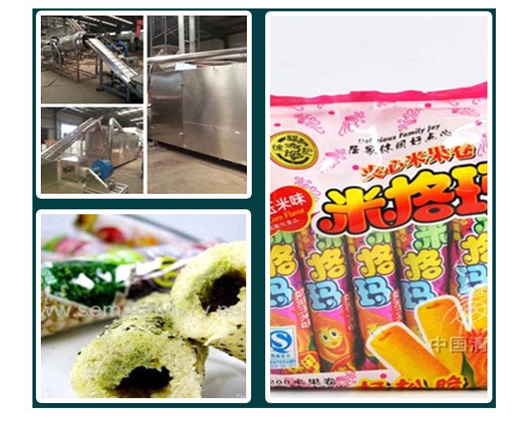 夹心米果、麦烧、休闲食品生产线_05