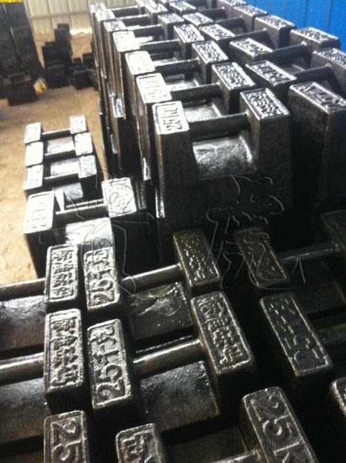 20kg砝码-20公斤锁型砝码-20千克铸铁砝码