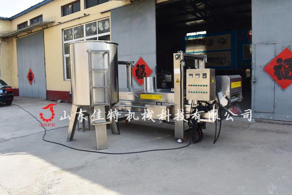 <strong>安徽连续式馓子油炸机自动过滤残渣</strong>